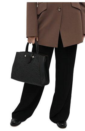 Женский сумка-тоут essential medium MCM черного цвета, арт. MWT AASE02   Фото 2
