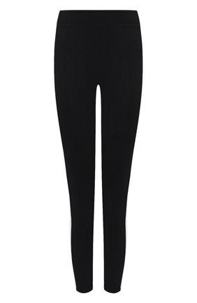 Женские леггинсы MONCLER черно-белого цвета, арт. F2-093-8H722-10-V8084 | Фото 1