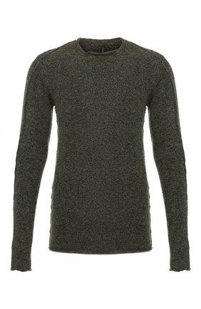 Мужской свитер TRANSIT темно-зеленого цвета, арт. CFUTRM20550   Фото 1