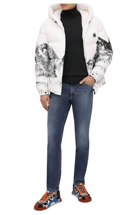 Мужские джинсы DOLCE & GABBANA синего цвета, арт. GYJCCD/G8DB5 | Фото 2