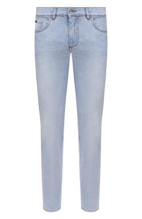 Мужские джинсы DOLCE & GABBANA голубого цвета, арт. GY07CD/G8CT3 | Фото 1
