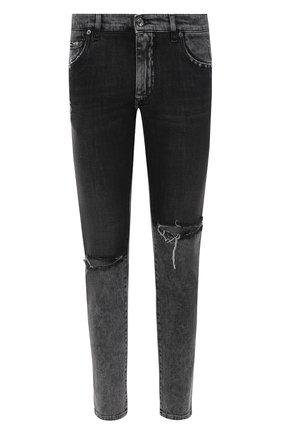 Мужские джинсы DOLCE & GABBANA серого цвета, арт. GY07CD/G8CS1 | Фото 1