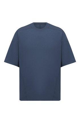 Мужская хлопковая футболка DRKSHDW темно-синего цвета, арт. DU20F1253 RN | Фото 1