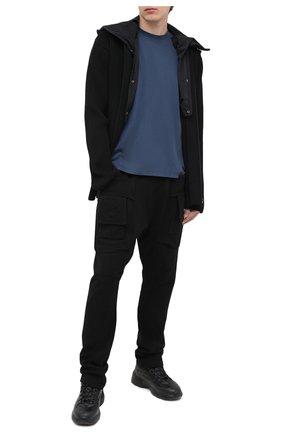 Мужская хлопковая футболка DRKSHDW темно-синего цвета, арт. DU20F1253 RN | Фото 2