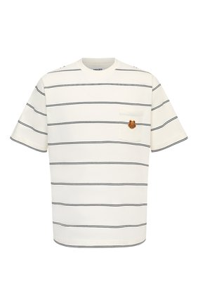 Мужская хлопковая футболка KENZO кремвого цвета, арт. FA65TS5204S0   Фото 1