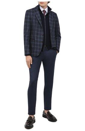 Мужские кожаные лоферы BARRETT бордового цвета, арт. 142U149.107/BETIS CREAM | Фото 2