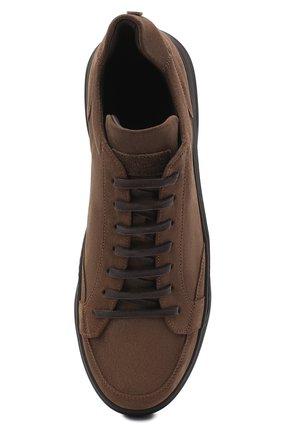 Мужские замшевые кеды BARRETT коричневого цвета, арт. PHAN-10993.10/REPELL0 0IL   Фото 5