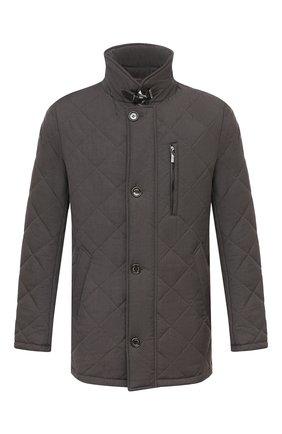 Мужская утепленная куртка GIMO'S темно-коричневого цвета, арт. 20AI.U.290.624 | Фото 1