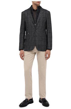 Мужская хлопковая рубашка VAN LAACK коричневого цвета, арт. M-PER-L/180031 | Фото 2