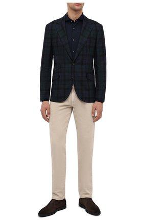 Мужская хлопковая рубашка VAN LAACK темно-синего цвета, арт. M-PER-L/180031 | Фото 2