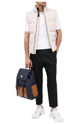 Мужской кожаный рюкзак brandenburg MCM синего цвета, арт. MMK AABG05   Фото 2