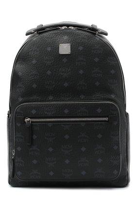 Мужской рюкзак stark MCM черного цвета, арт. MMK AAVE07   Фото 1