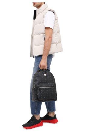 Мужской рюкзак stark MCM черного цвета, арт. MMK AAVE07   Фото 2