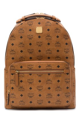 Мужской рюкзак stark MCM коричневого цвета, арт. MMK AAVE07   Фото 1