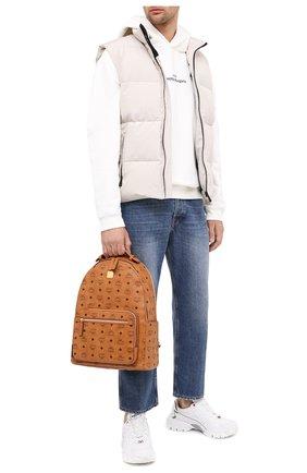 Мужской рюкзак stark MCM коричневого цвета, арт. MMK AAVE07   Фото 2