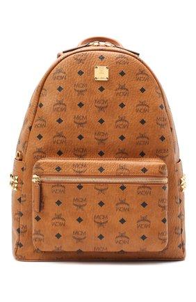 Мужской рюкзак stark MCM коричневого цвета, арт. MMK AAVE09   Фото 1