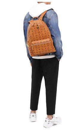 Мужской рюкзак stark MCM коричневого цвета, арт. MMK AAVE09   Фото 2