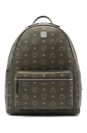 Мужской рюкзак stark MCM хаки цвета, арт. MMK AAVE16 | Фото 1