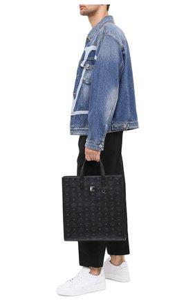 Мужская сумка-тоут klassik MCM черного цвета, арт. MMT AAKC01 | Фото 2