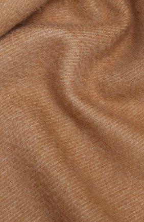 Мужской кашемировый шарф LUCIANO BARBERA бежевого цвета, арт. 124171/85031 | Фото 2
