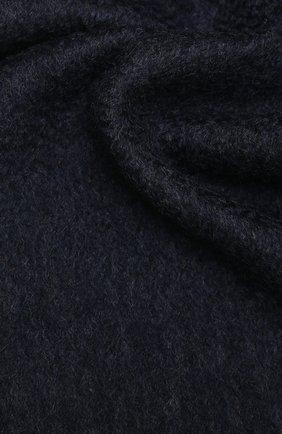 Мужской кашемировый шарф LUCIANO BARBERA темно-синего цвета, арт. 124171/85031 | Фото 2
