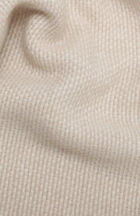 Мужской кашемировый шарф LUCIANO BARBERA светло-бежевого цвета, арт. 124233/59013 | Фото 2