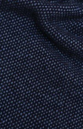 Мужской кашемировый шарф LUCIANO BARBERA темно-синего цвета, арт. 124233/59013 | Фото 2