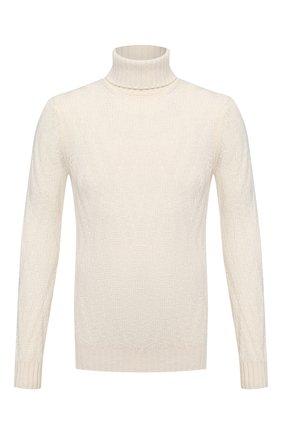 Мужской шерстяной свитер GRAN SASSO белого цвета, арт. 13166/22622 | Фото 1