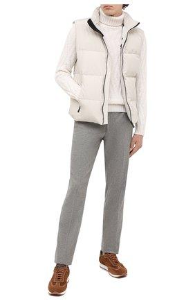 Мужской шерстяной свитер GRAN SASSO белого цвета, арт. 13166/22622 | Фото 2