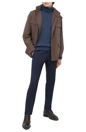 Мужской шерстяной свитер GRAN SASSO синего цвета, арт. 13166/22622 | Фото 2