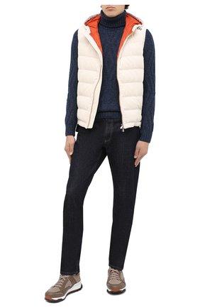 Мужской шерстяной свитер GRAN SASSO темно-синего цвета, арт. 13166/22622 | Фото 2