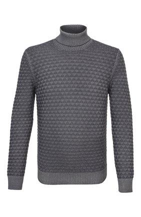 Мужской шерстяной свитер GRAN SASSO серого цвета, арт. 23146/22753 | Фото 1