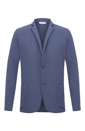 Мужской шерстяной пиджак GRAN SASSO голубого цвета, арт. 57156/17112 | Фото 1
