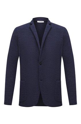 Мужской шерстяной пиджак GRAN SASSO синего цвета, арт. 57156/17112 | Фото 1
