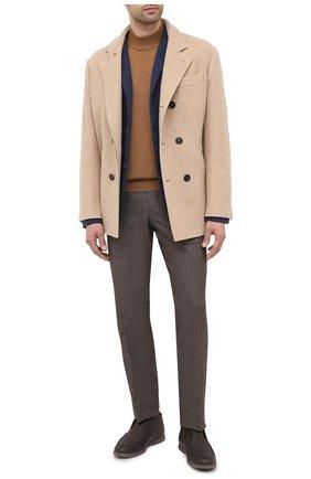 Мужской шерстяной пиджак GRAN SASSO синего цвета, арт. 57156/17112 | Фото 2