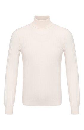 Мужской шерстяная водолазка GRAN SASSO белого цвета, арт. 57171/14236 | Фото 1