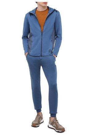 Мужская толстовка GRAN SASSO синего цвета, арт. 60194/69702 | Фото 2