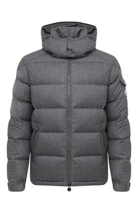 Мужская пуховая куртка montgenevre MONCLER серого цвета, арт. F2-091-1A537-00-54272 | Фото 1