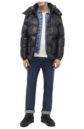 Мужская пуховая куртка 2 moncler 1952 MONCLER GENIUS черного цвета, арт. F2-092-1B521-00-68950 | Фото 2