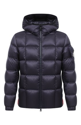 Мужская пуховая куртка charbonnel MONCLER темно-синего цвета, арт. F2-091-1A210-00-C0609 | Фото 1