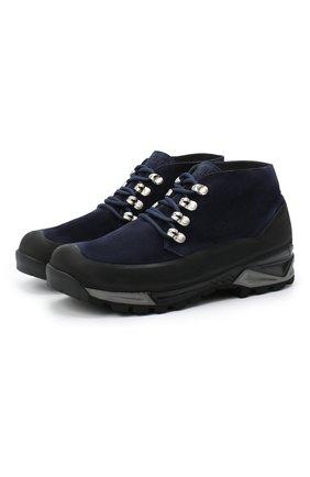 Мужские замшевые ботинки DIEMME темно-синего цвета, арт. DI2001AS01/M | Фото 1