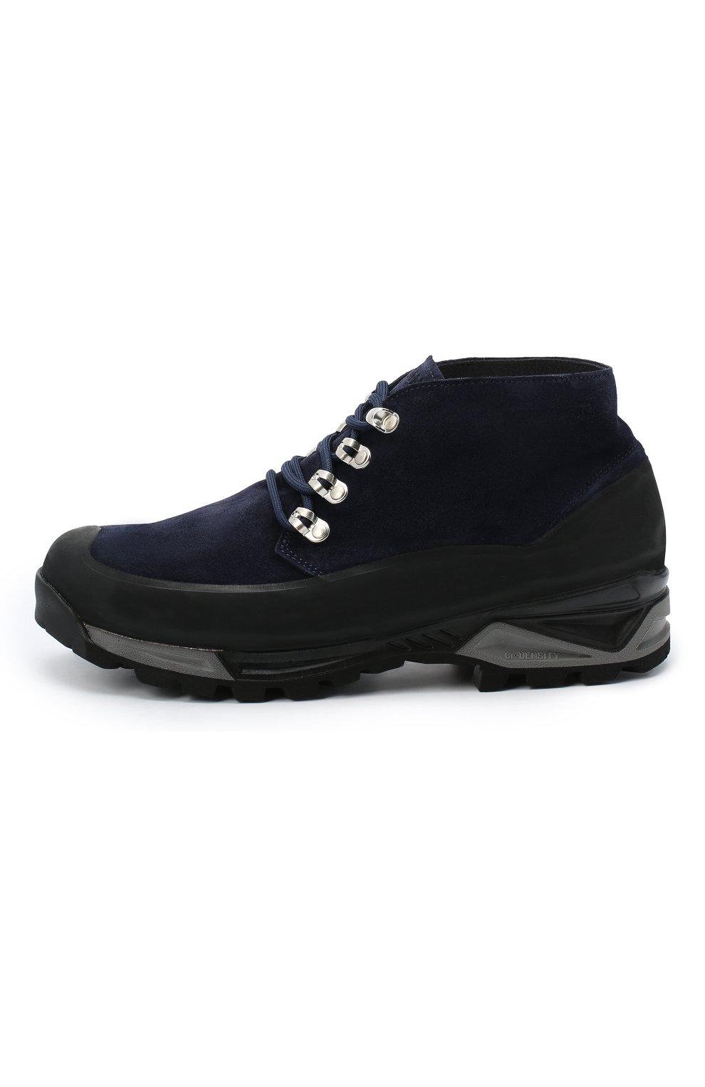 Мужские замшевые ботинки DIEMME темно-синего цвета, арт. DI2001AS01/M   Фото 3