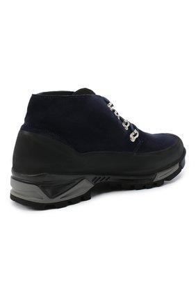 Мужские замшевые ботинки DIEMME темно-синего цвета, арт. DI2001AS01/M   Фото 4