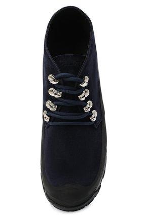 Мужские замшевые ботинки DIEMME темно-синего цвета, арт. DI2001AS01/M   Фото 5