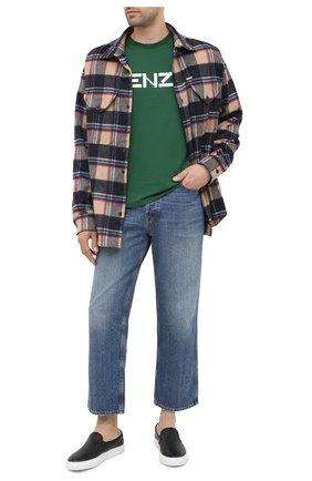 Мужские кожаные слипоны DIEMME черного цвета, арт. DI2001GA03/M | Фото 2