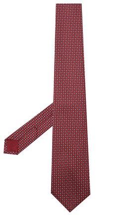 Мужской шелковый галстук BRIONI красного цвета, арт. 062I00/09450 | Фото 2