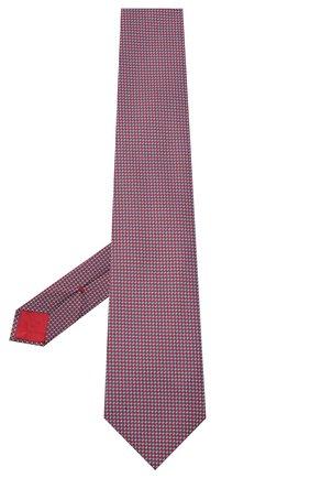 Мужской шелковый галстук BRIONI красного цвета, арт. 062I00/0943U | Фото 2