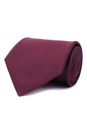 Мужской шелковый галстук BRIONI фиолетового цвета, арт. 062I00/0943C | Фото 1