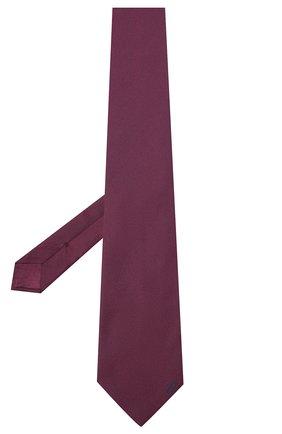 Мужской шелковый галстук BRIONI фиолетового цвета, арт. 062I00/0943C | Фото 2