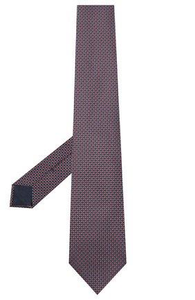 Мужской шелковый галстук BRIONI красного цвета, арт. 062I00/09439 | Фото 2